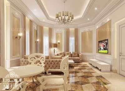 فيلا غرفة الجلوس التصميم