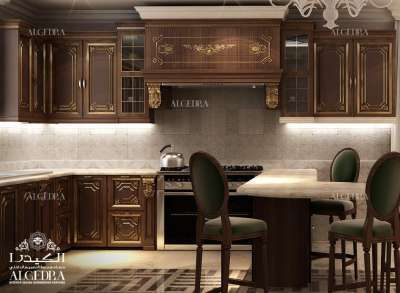 فاخر مطبخ التصميم الداخلي