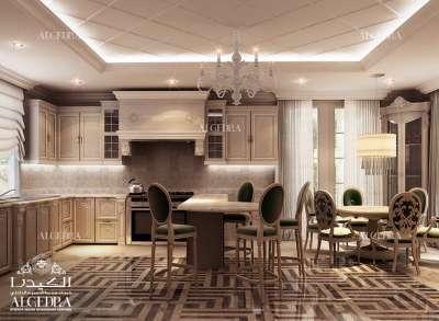 فيلا فاخرة تصميم المطبخ