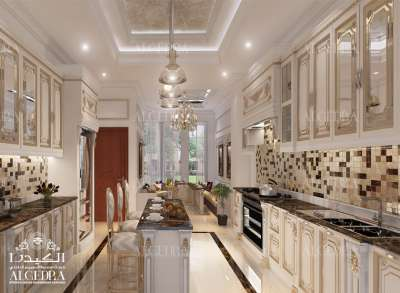 تصميم المطبخ للفيلا