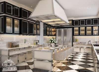 تصميم جميل للمطبخ دبي