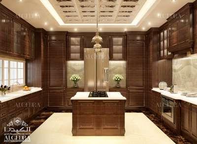 تصميم فاخر للمطبخ دبي