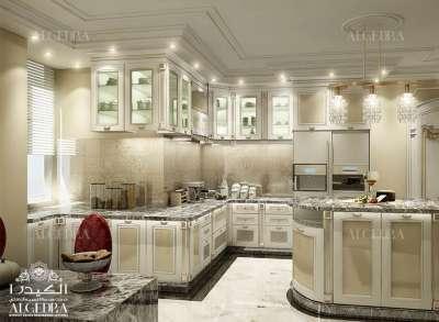 تصميم فاخر للمطبخ