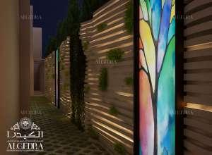 تصميم حديقة حديثة في دبي