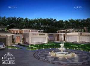 تصميم حدائق الفلل