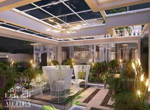 تصميم داخلي حدائق منزلية