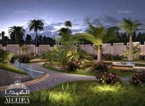 هندسة حديقة