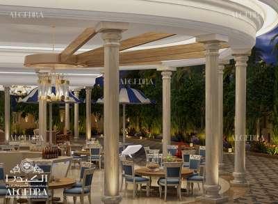 luxury landscape design for Palace