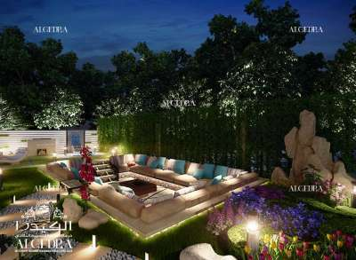 Beautiful Garden Design for Villa