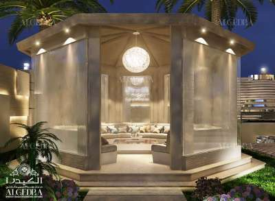 Luxury Landscape design Abu Dhabi