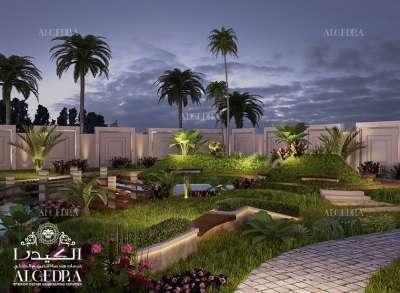 تصميم حديقة صغيرة
