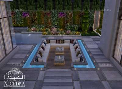 تصميم حديقة