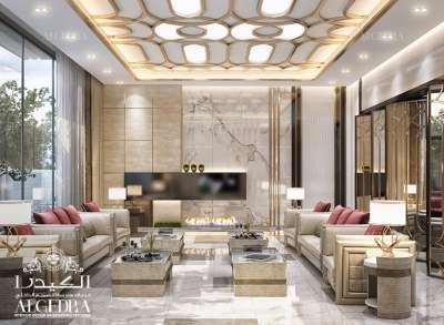luxury Majlis interior design in Dubai