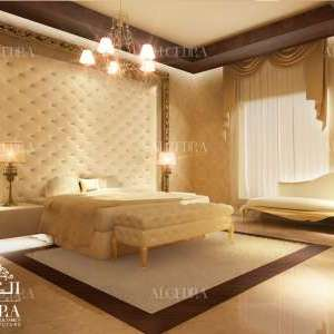 Gold Theme Bedroom Design Part 70