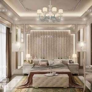 تصميم غرف نوم كلاسيك أبوظبي