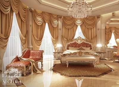 Palace Master Bedroom Interior Design