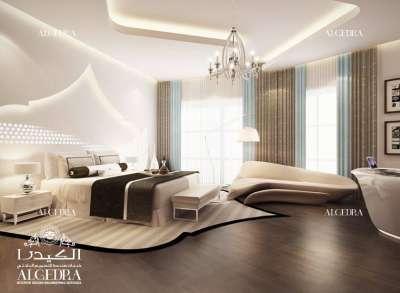 Modern bedroom design Abu Dhabi