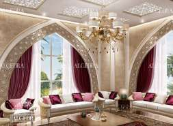 Islamic interior design modern islamic designs by algedra for Decoration maison islam