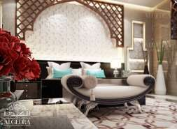 master bedroom interior for Villa
