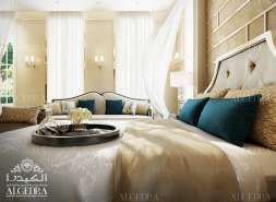 Classic interior for Bedroom design