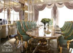 Algedra Dining room design