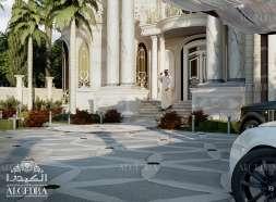 beautiful Villa Exterior Design in UAE