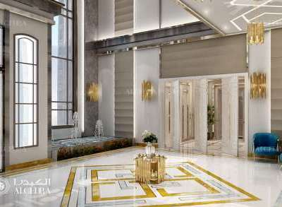 Residential Lobby Entrance Design