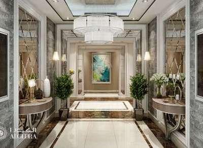 Lobby Entrance Design Dubai
