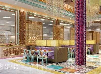 أفكار لتصاميم جدران مطعم