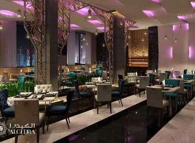 تصميم داخلي لفنادق ومطاعم