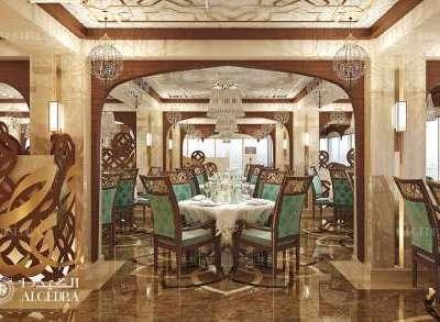 مفاهيم تصميم داخلي مطاعم