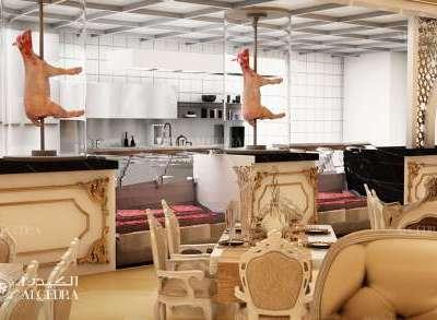 تصميم مطعم فريد