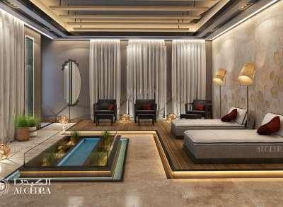Spa interior decor