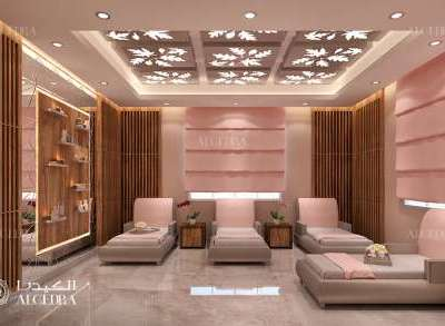 Spa interior decor Dubai