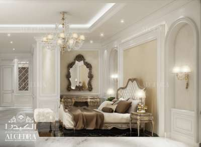 Classic master Bedroom interior Design