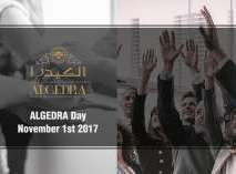 Algedra day November 1st