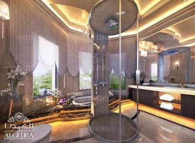 Unique luxury bathroom design