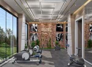 Gym design in Beladbont design
