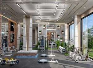 Fitness centre in beladbont resort