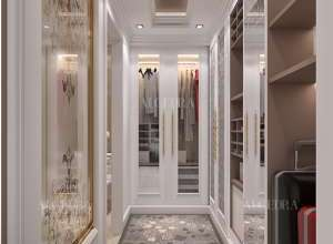 Closet design for resort
