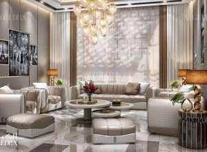 Palace living room interior design