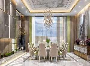 Palace dining room interior design