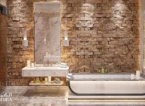 Palace guest bathroom interior design