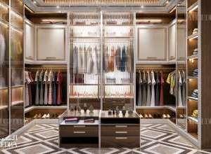 Palace dressing room interior design