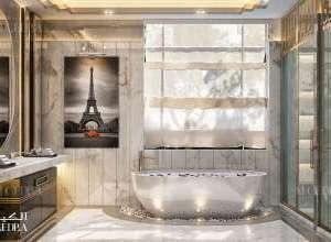 Palace master bathroom interior design