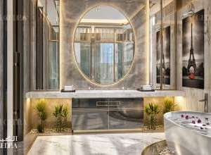 Palace beautiful bathroom interior design