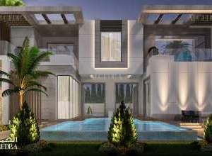 Beautiful Palace Architectural Design Project