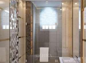 تصميم داخلي حمام فيلا حديثة