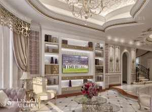 Classic Interior Living Room Design