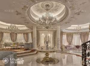 تصميم داخلي كلاسيكي رائع قاعة